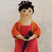 """Куклы и игрушки ручной работы. Ярмарка Мастеров - ручная работа текстильная кукла """"Ванесса Петровна"""". Handmade."""