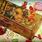 """Для дома и интерьера ручной работы. Ярмарка Мастеров - ручная работа Шкатулка """" Любимая сказка"""". Handmade."""