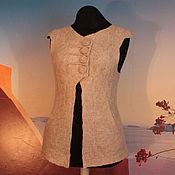 """Одежда ручной работы. Ярмарка Мастеров - ручная работа """"Находка""""  жилет - авторский войлок. Handmade."""