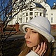 Шляпка `Рафаэлла`. Мастер Виктория Дементьева.