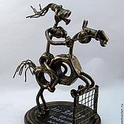 Сувениры и подарки handmade. Livemaster - original item Jockey. Handmade.