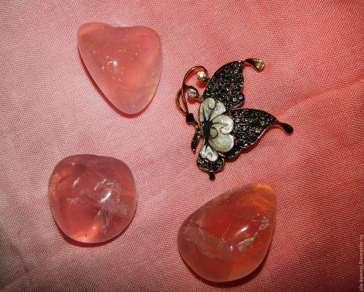Минералы, друза ручной работы. Ярмарка Мастеров - ручная работа. Купить Розовый кварц камень. Handmade. Камень натуральный, галтовка