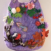 Сумки и аксессуары handmade. Livemaster - original item Bag-calendar