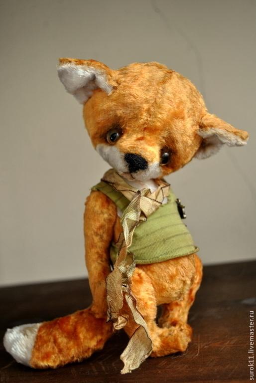 Мишки Тедди ручной работы. Ярмарка Мастеров - ручная работа. Купить Лени. Handmade. Оранжевый, лисичка, плюшевая игрушка, рыжий