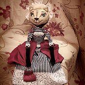 Куклы и игрушки ручной работы. Ярмарка Мастеров - ручная работа Кошечка Эльза.. Handmade.