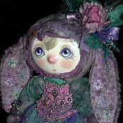 Куклы и игрушки ручной работы. Ярмарка Мастеров - ручная работа зайка Лавандовая.. Handmade.