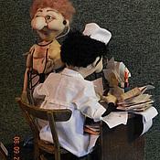 Куклы и игрушки ручной работы. Ярмарка Мастеров - ручная работа На приеме у терапевта. Handmade.