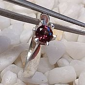 Украшения handmade. Livemaster - original item Silver ring with red spinel.. Handmade.