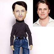 Куклы и игрушки ручной работы. Ярмарка Мастеров - ручная работа Кукла с портретным сходством, мужчина.. Handmade.