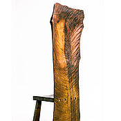 Стулья ручной работы. Ярмарка Мастеров - ручная работа Трон из слэба дерева с высокой спинкой. Handmade.