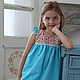 Одежда для девочек, ручной работы. Платье (Арт.: Д-13). Анна (Авторская Одежда). Интернет-магазин Ярмарка Мастеров.