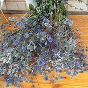 Цветы и флористика handmade. Livemaster - original item Thistle eryngium .dried.- Guardian. Handmade.