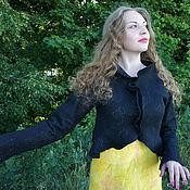 Одежда ручной работы. Ярмарка Мастеров - ручная работа Жакет валяный Болеро. Handmade.