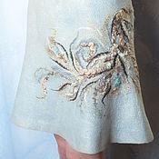 Одежда ручной работы. Ярмарка Мастеров - ручная работа Валяная юбка... Весна-лето. Handmade.