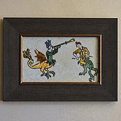 """Картины и панно ручной работы. Ярмарка Мастеров - ручная работа Картина.  Гротеск """"Концерт №2"""". Handmade."""