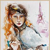 Картины и панно handmade. Livemaster - original item A true Parisian. Handmade.