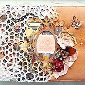 """Канцелярские товары ручной работы. Ярмарка Мастеров - ручная работа Альбом """"Ключ от всех дверей"""". Handmade."""
