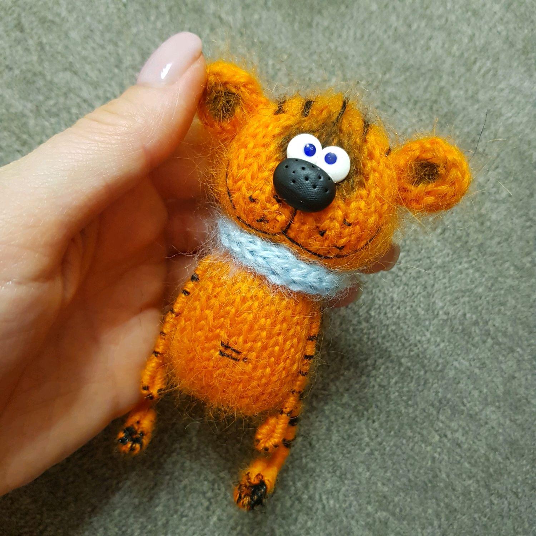 Описание вязания тигра/кота, Выкройки для шитья, Нижний Тагил,  Фото №1