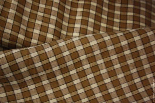 Шитье ручной работы. Ярмарка Мастеров - ручная работа. Купить Ткань блузочно -сорочечная. Handmade. Комбинированный, лен, сорочечная ткань