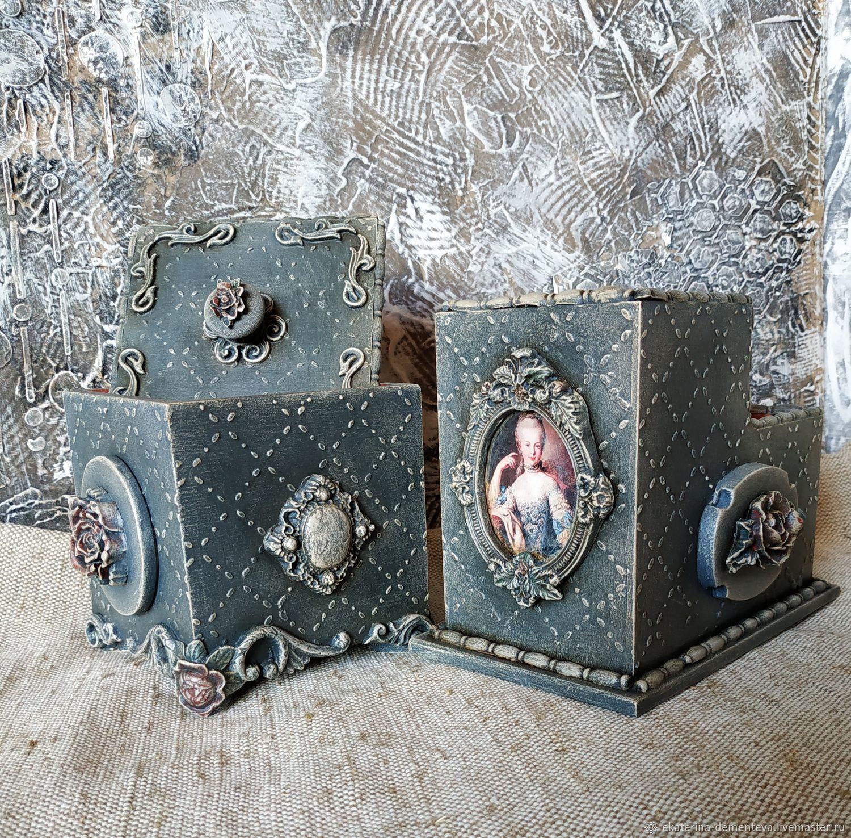 Набор для офиса Дамский каприз, Карандашницы, Заокский,  Фото №1