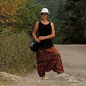 """Одежда ручной работы. Ярмарка Мастеров - ручная работа Афгани """" В желтой жаркой Африке..."""". Handmade."""