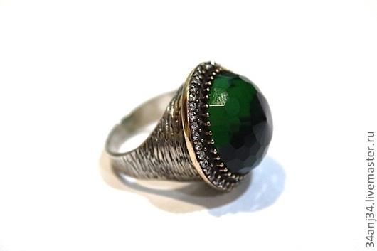 """Кольца ручной работы. Ярмарка Мастеров - ручная работа. Купить Кольцо """"Дриада"""". Handmade. Зеленый, подарок девушке, кольца купить"""