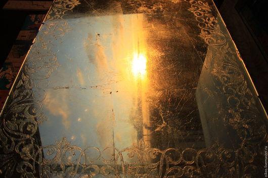 Зеркала ручной работы. Ярмарка Мастеров - ручная работа. Купить Большое орнаментальное венецианское зеркало ручной работы Питер. Handmade.