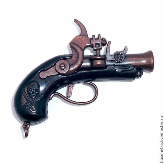 Куклы и игрушки ручной работы. Ярмарка Мастеров - ручная работа. Купить Подвеска Пистолет №5 (большой!). Handmade. Пистолет