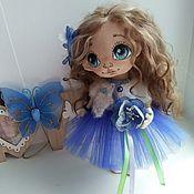 Куклы и игрушки ручной работы. Ярмарка Мастеров - ручная работа Интерьерная куколка Вита. Handmade.