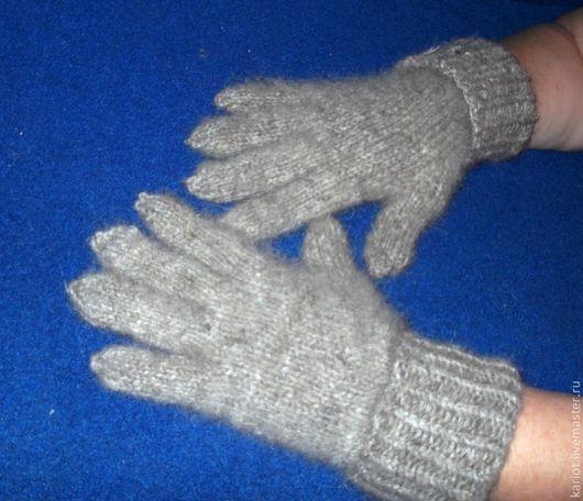 Варежки, митенки, перчатки ручной работы. Ярмарка Мастеров - ручная работа. Купить Перчатки из собачьей шерсти. Handmade. Собачья шерсть