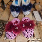Обувь ручной работы handmade. Livemaster - original item Women`s Slippers