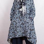 Одежда ручной работы. Ярмарка Мастеров - ручная работа Пальто летнее лен в стиле бохо. Handmade.