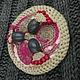 """Броши ручной работы. Заказать Броши """"ОНТЭ"""" (брошь вязаная крючком в стиле этно-модерн). MYUq - crochet jeweller&accessories (MYUq). Ярмарка Мастеров."""