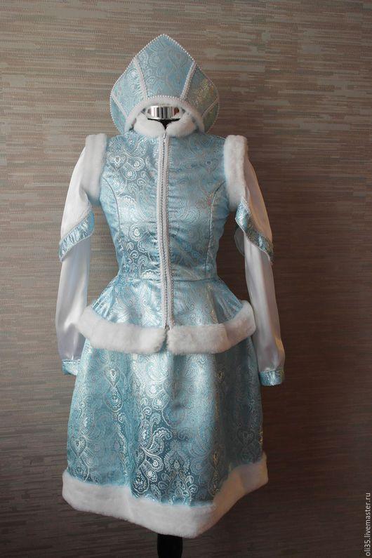 Карнавальные костюмы ручной работы. Ярмарка Мастеров - ручная работа. Купить костюм Снегурочки. Handmade. Костюм, костюм снегурочки, аниматоры