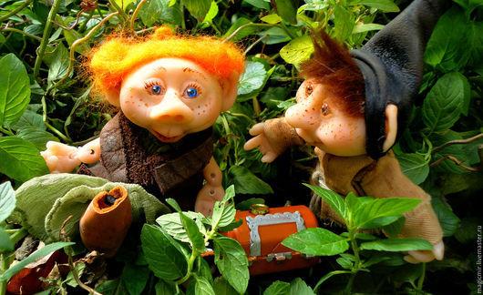 Коллекционные куклы ручной работы, Ярмарка мастеров- ручная работа, Купить куклу гном. Цена указана за одну куклу.