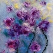Картины и панно handmade. Livemaster - original item Wool Watercolor Art Painting. Handmade.