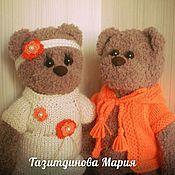 Куклы и игрушки ручной работы. Ярмарка Мастеров - ручная работа Вязаные медвежата. Handmade.