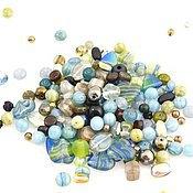 Материалы для творчества handmade. Livemaster - original item 20 gr Mix Water Empire Czech beads Preciosa. Handmade.