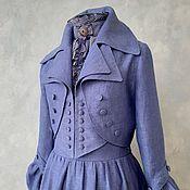 Одежда handmade. Livemaster - original item Linen redingot. Handmade.