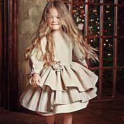 """Работы для детей, ручной работы. Ярмарка Мастеров - ручная работа Платье """"Аглая"""". Handmade."""