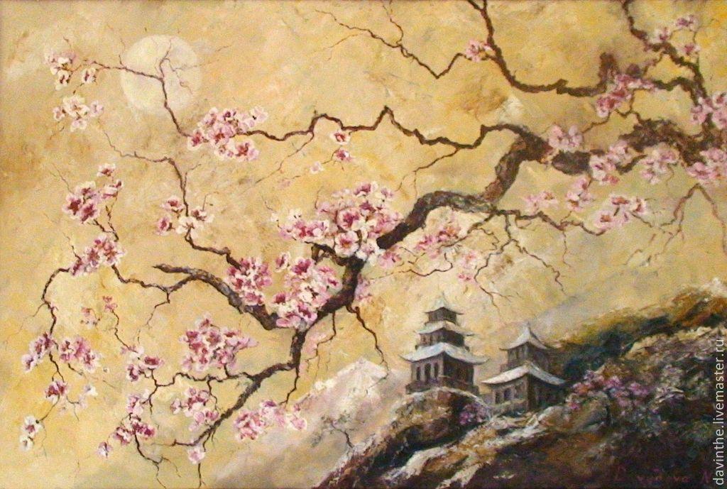 Сакура японская картинки