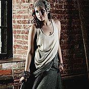 Одежда ручной работы. Ярмарка Мастеров - ручная работа Валяная юбка «Босиком по лепесткам». Handmade.