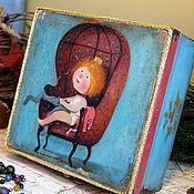 Для дома и интерьера ручной работы. Ярмарка Мастеров - ручная работа Прынцесса. Шкатулка. Handmade.