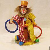 Куклы и пупсы ручной работы. Ярмарка Мастеров - ручная работа КЛОУН авторская кукла. Handmade.