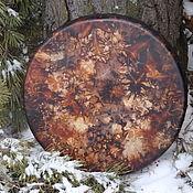 Музыкальные инструменты handmade. Livemaster - original item The universe. Drum leather. 40 cm.. Handmade.