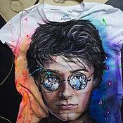 Одежда handmade. Livemaster - original item Hand-painted Harry Potter t-shirt. Handmade.