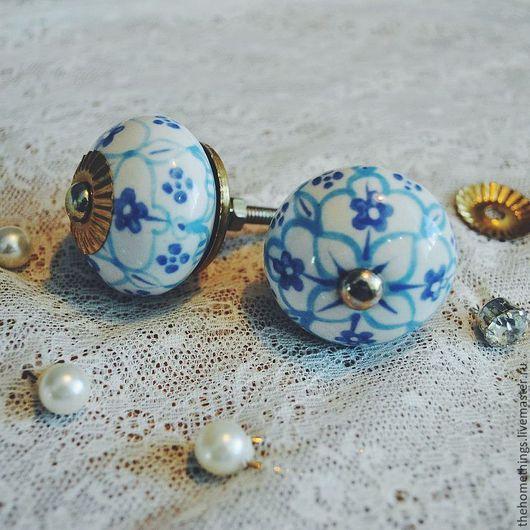 Другие виды рукоделия ручной работы. Ярмарка Мастеров - ручная работа. Купить декоративные ручки из керамики. Handmade. Мебельная ручка