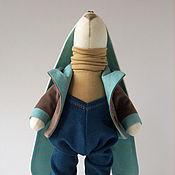 Куклы и игрушки ручной работы. Ярмарка Мастеров - ручная работа Зайчик Камушек. Handmade.