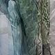 Диана Чентукова. Батик. Diana Chentukova. Batik. палантин батик, батик палантин, палантин шелковый батик, палантин с росписью, палантин расписной, шелковый палантин батик, шелковый батик палантин