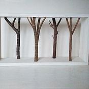 """Полки ручной работы. Ярмарка Мастеров - ручная работа Полка с ветками """"лес"""". Handmade."""